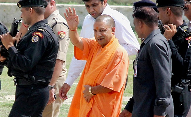 Yogi Adityanath Takes A Swipe At Rahul Gandhi Over His Gujarat Campaign