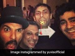Yuvi-Nehra <i>Ki Jodi</i> Danced Up A Storm At <i>Veere</i> Zaheer Khan's Wedding