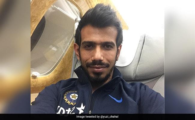 उड़ते प्लेन में हुआ 'भारत-न्यूजीलैंड' मैच, जीत के बाद देखिए कैसे मनाया चहल ने जश्न