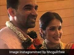 Zaheer Khan Gets Married To Sagarika Ghatge