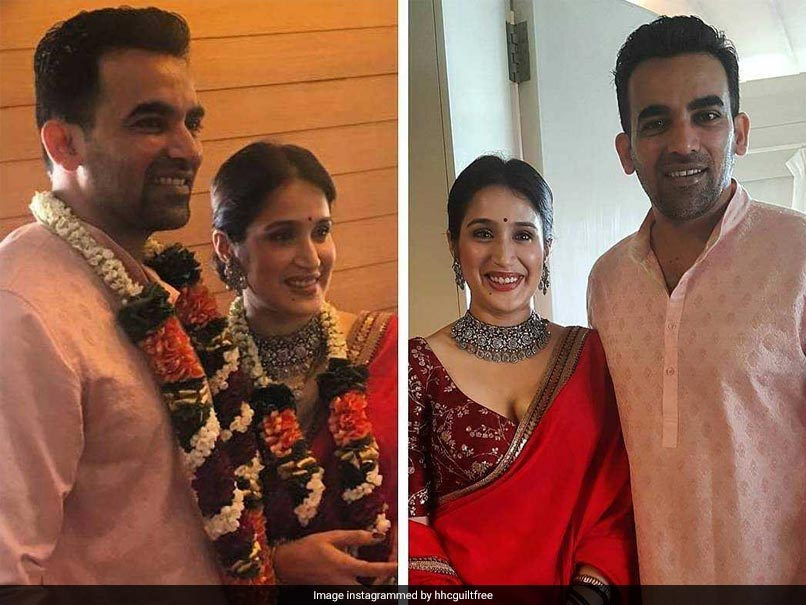 Just In: Zaheer Khan, Sagarika Ghatge get married, see pics