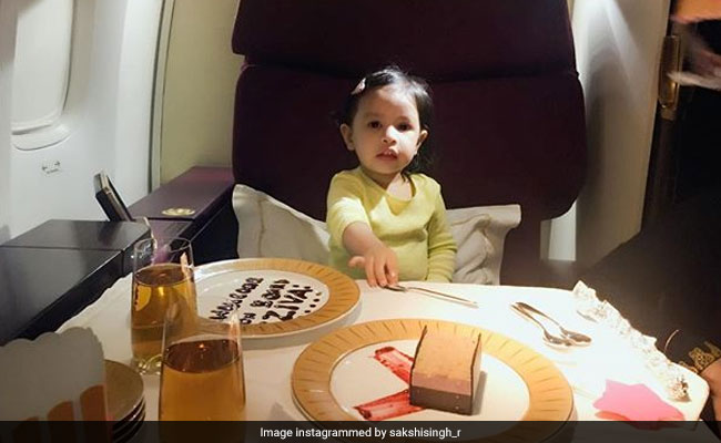 Ziva Dhoni's Kitchen Playtime Will Make You Go 'Aww'