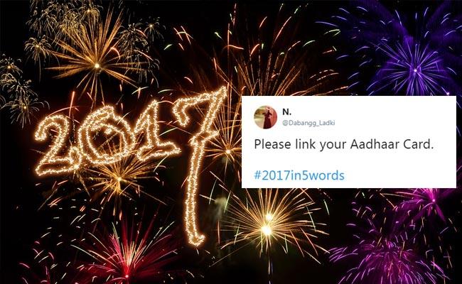 5 शब्द में बताएं 2017 के बारे में, क्या आपने खेला है ट्विटर पर ये गेम