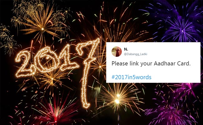2017 In 5 Words? Twitter Takes Up The Challenge, Delivers Gems