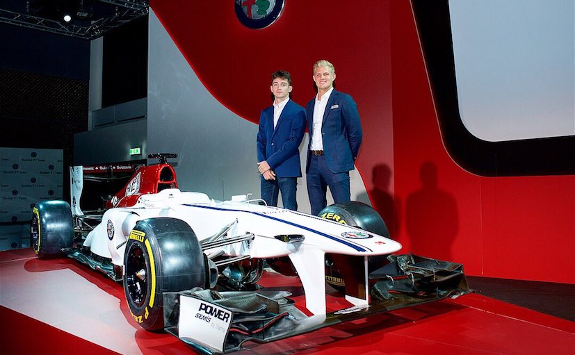 sauber unveils 2018 alfa romeo f1 livery concept ericsson and leclerc announced drivers ndtv. Black Bedroom Furniture Sets. Home Design Ideas