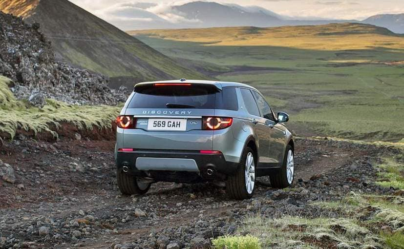 2018 land rover discovery sport launched in india priced. Black Bedroom Furniture Sets. Home Design Ideas