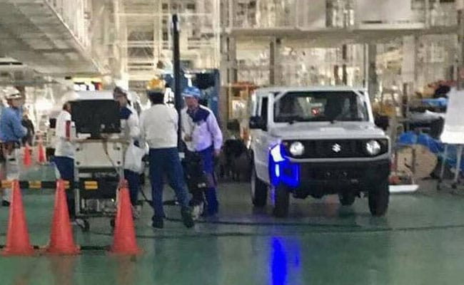 The 2018 Suzuki Jimny has been spotted yet again and this time sans any camouflage