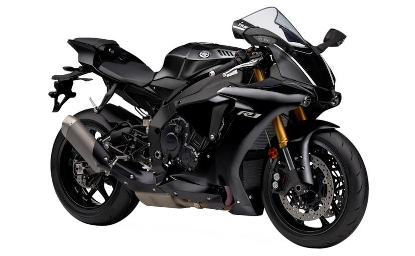 2018 yamaha yzf r1 tech black