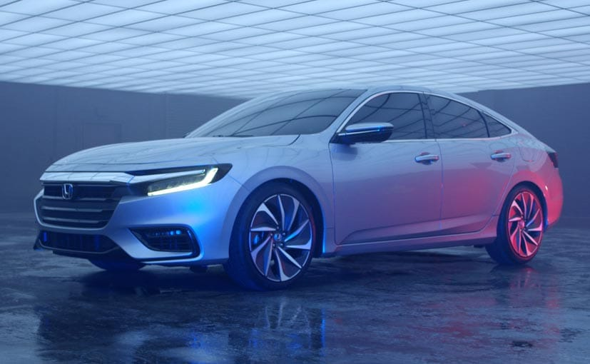 2019 Honda Insight Hybrid Sedan Teased Ahead Of 2018 North American