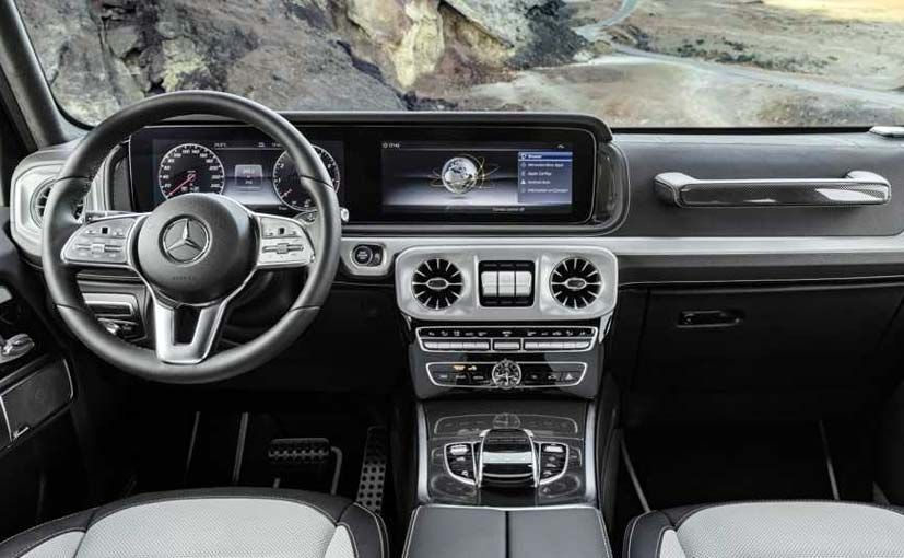 Mercedes Benz Interior >> 2019 Mercedes Benz G Class Interior Revealed Carandbike