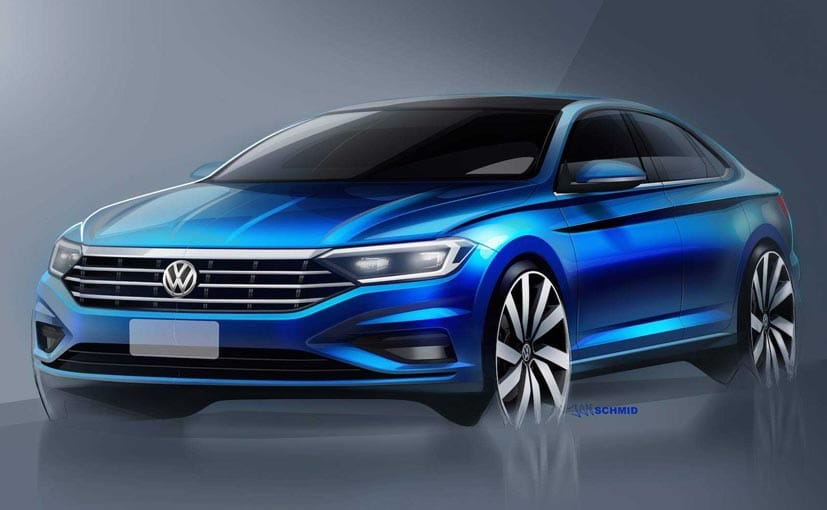 Revealed the design of the Volkswagen Jetta the new generation