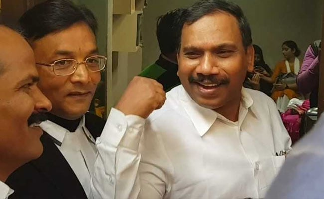 2G Scam: A Raja, Kanimozhi arrive at Patiala House Court