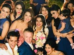 Inside Aashka Goradia And Brent Goble's Fairy Tale Wedding