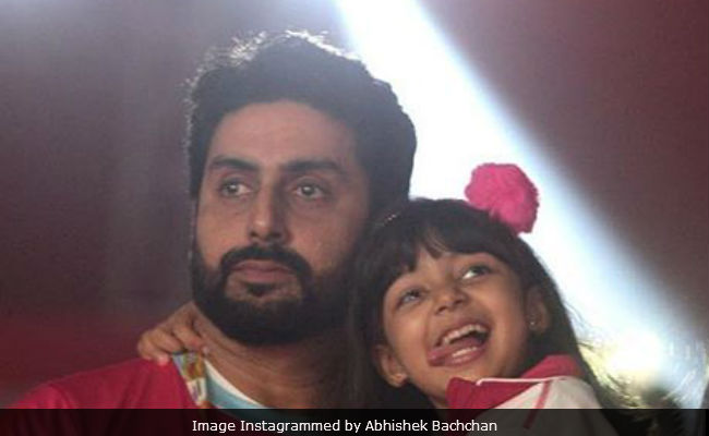 Abhishek Bachchan Incinerates Troll Who Called Aaradhya 'Beauty Without Brains'