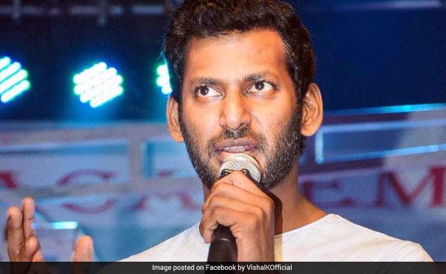 Actor Vishal Joins Race For High-Profile RK Nagar, Jayalalithaa's Seat