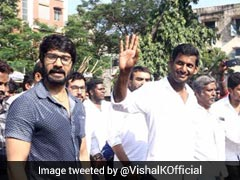Actor Vishal Fights Back On RK Nagar, Tweets President, PM