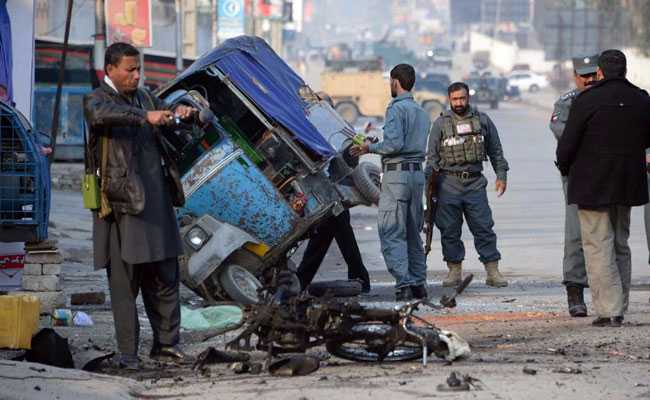 Suicide Bomber Plows Into Crowd At Afghan Political Rally, At Least Six Dead