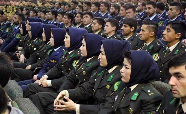 20 Afghan Soldiers, All Of Them Women, In India For Training