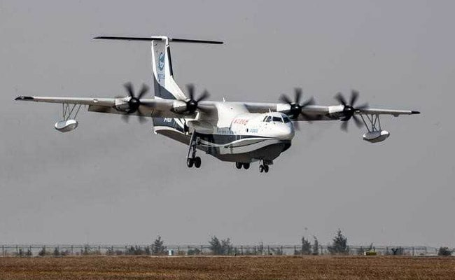 China To Deliver World's Largest Amphibious Aircraft By 2022: Report