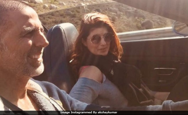 Happy Birthday, Twinkle Khanna. Akshay Kumar Shares A Wonderful Pic With His 'Favourite Companion For Life'