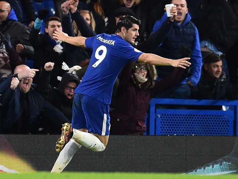 EPL: Alvaro Morata, Marcos Alonso Score As Chelsea Beat Brighton 2-0
