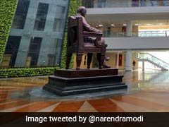 PM Narendra Modi Inaugurates B R Ambedkar International Centre