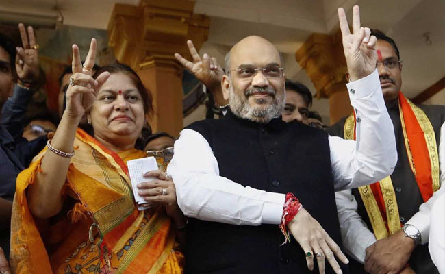 Amit Shah Was Once Booth Manager In Area Where He Voted Today As BJP Boss