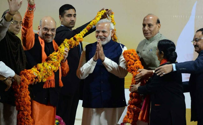Gujarat And Himachal Pradesh Election Results: BJP Retains Gujarat, Sweeps Himachal