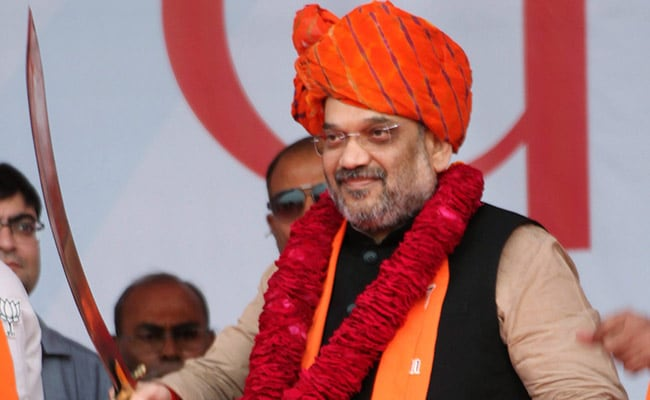 Spell out stand on Ayodhya, Amit Shah asks Congress