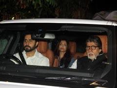 शशि कपूर के निधन की खबर सुनते ही बेटा-बहू के साथ उनके घर पहुंचे अमिताभ बच्चन