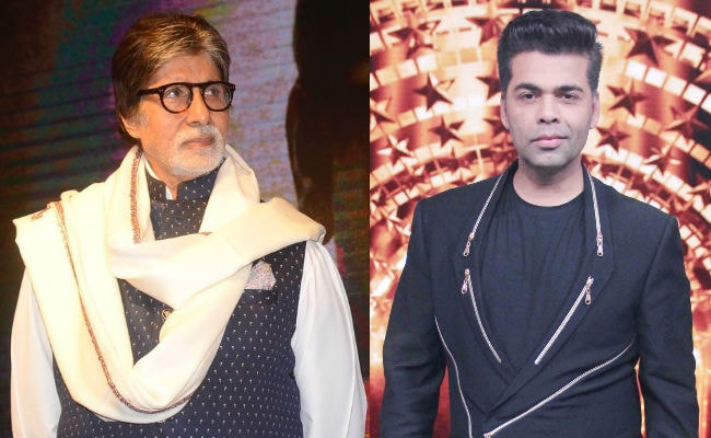 Karan Johar Got A Fact About Amitabh Bachchan Wrong And This Happened On Twitter