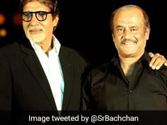 Amitabh Bachchan Sends Best Wishes To Rajinikanth On His Political Debut