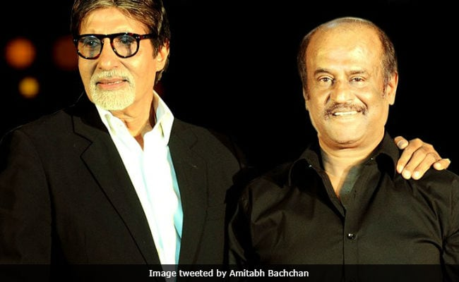 As Rajinikanth turns 67, wishes pour in from Amitabh Bachchan, MK Stalin