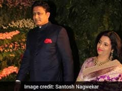 Anil Kumble Is Seen At Virat Kohli, Anushka Sharma's Wedding Reception. Twitter Into A Tizzy