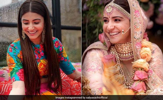 Inside Anushka Sharma S Wedding Wardrobe Courtesy Designer