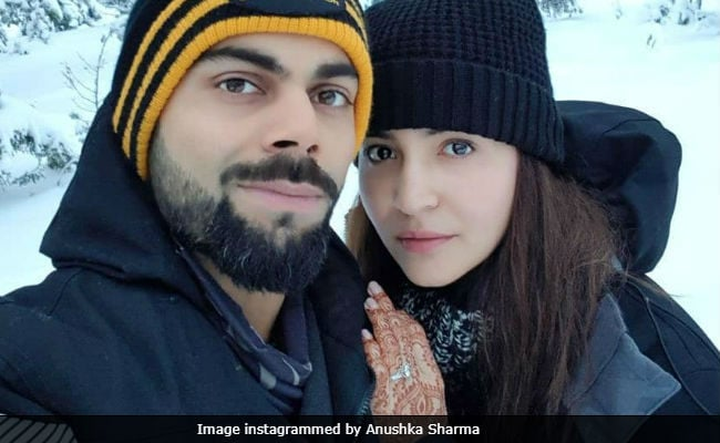 Anushka Sharma's Honeymoon Selfie With Virat Kohli Goes Viral Instantly