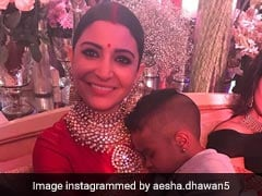 Anushka Sharma's Pic With Shikhar Dhawan's Son Is Pure Love