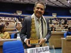 जामिया मिल्लिया इस्लामिया को 'यूनिवर्सिटी ऑफ द नेशन' के अवार्ड से नवाजा गया
