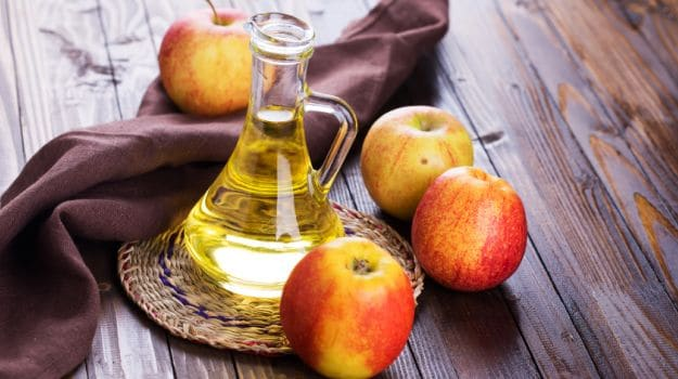 apple cider vinegar prevents candida growth