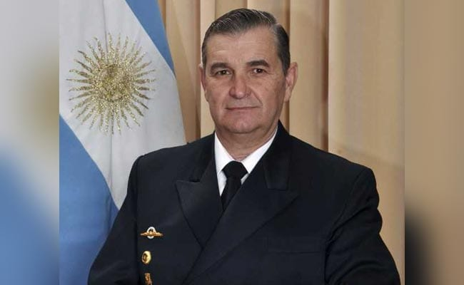 argentina navy chief afp