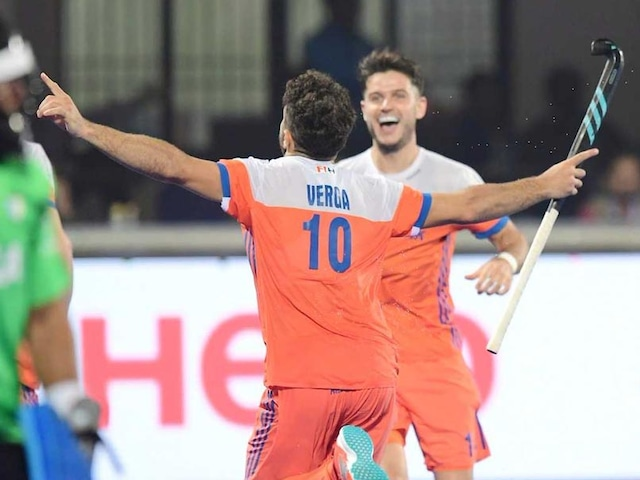 Hockey World League Final: Argentina Score Late Equaliser To Avoid Second Defeat Against Netherlands