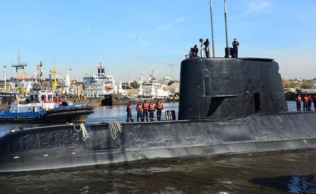 New Target In Search For Missing Argentine Submarine