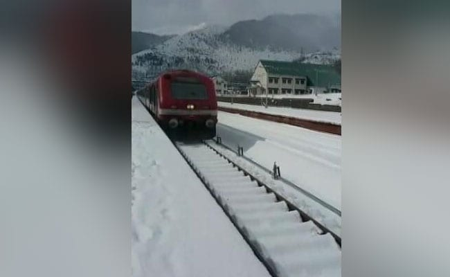 Railways To Open A Halt Station In Baramulla-Banihal Rail Line In Kashmir