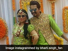 Bharti <I>Ki Baraat</I>: Inside Bharti Singh And Haarsh Limbachiyaa's Grand Mehendi And Sangeet Celebrations. See Pics