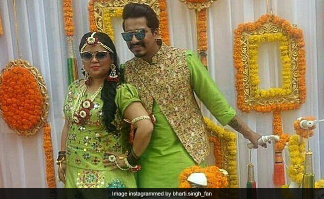Bharti Ki Baraat Inside Bharti Singh And Haarsh Limbachiyaa's Grand Mehendi And Sangeet Celebrations. See Pics