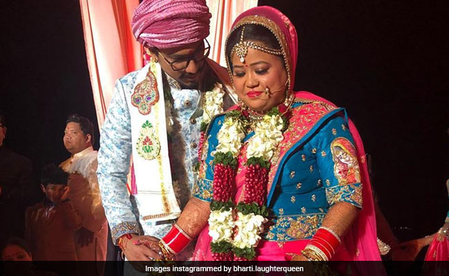 Bharti Singh is finally hitched to Haarsh Limbachiyaa! See pictures and video