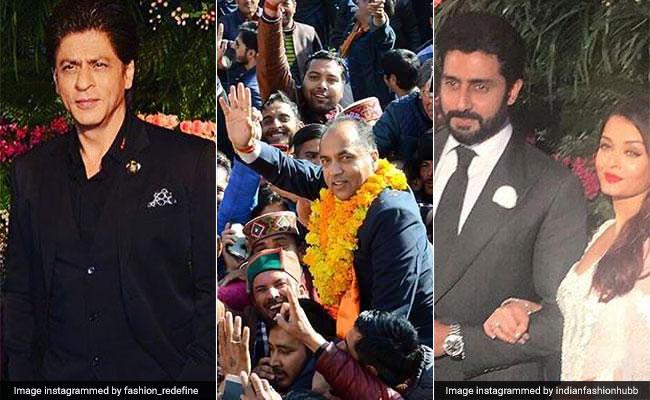 जयराम ठाकुर आज लेंगे CM पद की शपथ, विरुष्का के रिसेप्शन में उमड़ा सितारों का मेला, पढ़ें अब तक की 5 बड़ी खबरें
