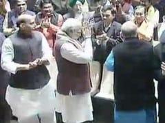 बीजेपी बैठक: फिर भावुक हुए पीएम मोदी, कहा- 19 राज्यों में हमारी सरकार, इंदिरा के पास थे सिर्फ 18