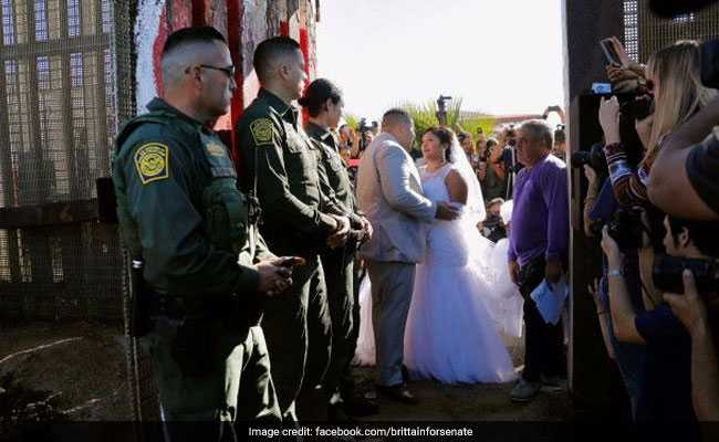 Border Agents Let Man Marry At Mexico Gate, Realized He Was Drug Smuggler