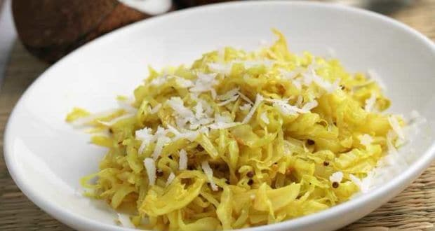 Cabbage Poriyal Recipe By Gowtham K Karingi Ndtv Food